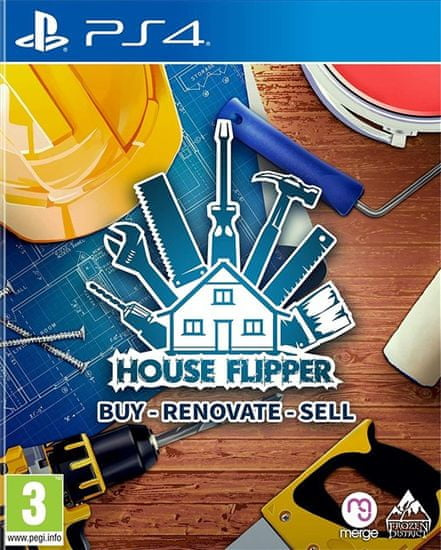 Merge Games House Flipper igra (PS4)