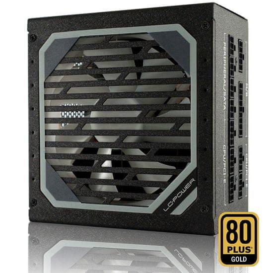 LC Power LC6750M V2.31 modularni napajalnik, 750 W, 80 Plus Gold, ATX