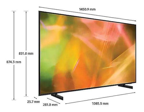 Samsung UE65AU8002KXXH 4K UHD LED televizor, Smart TV + Spotify Premium 3 mesece