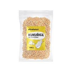 Allnature Kukuřice na popcorn 500 g