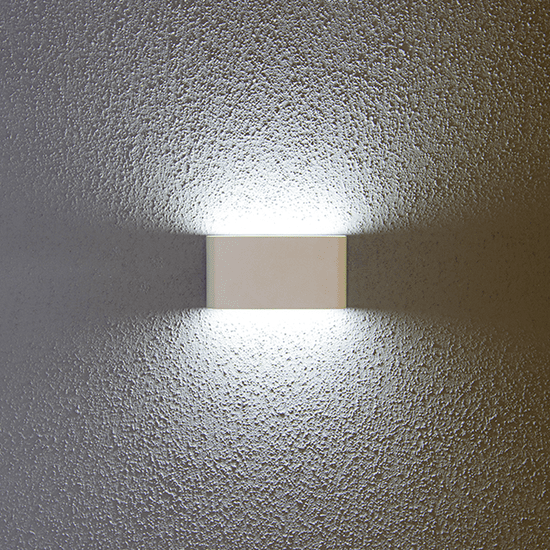 LED PRIHODNOST stenska LED svetilka JD8023 - bela