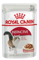 Royal Canin saszetka dla kotów Instinctive Gravy, 12 x 85 g