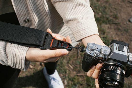 Peak Design Slide naramni pas za DSLR in Mirrorless fotoaparate - Črn