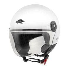 Kappa Motoristična čelada HAWAII (L) bela