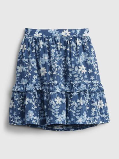 Gap Otroška Krilo floral midi skirt