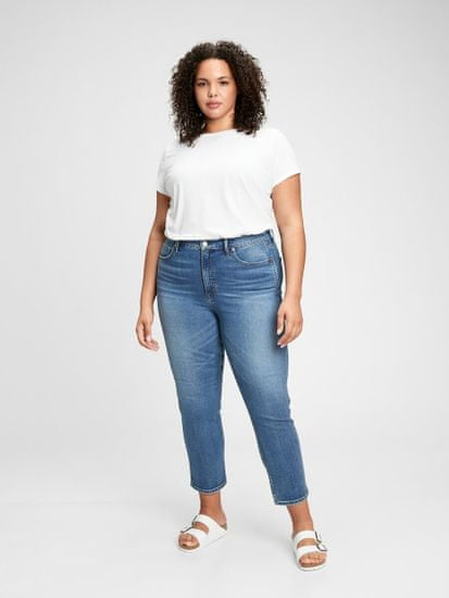 Gap Jeans high rise cigarette jeans with secret smoothing pockets with W