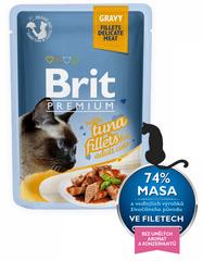 Brit Premium Cat Delicate Tuńczyk w sosie 24x85 g