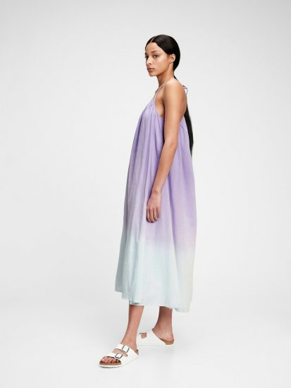Gap Obleka tie-dye cami maxi dress
