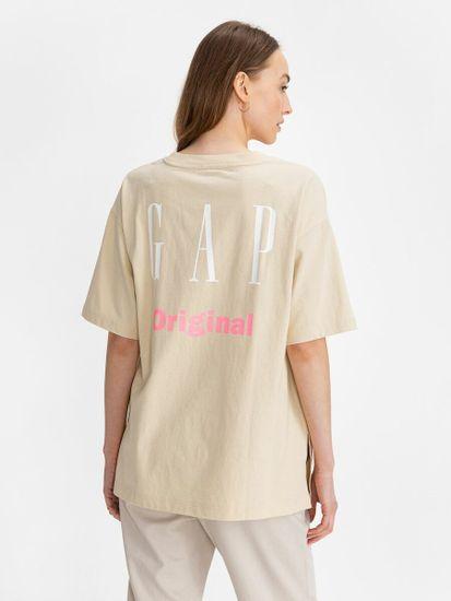Gap Majica Logo cya t-shirt
