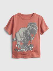 Gap Dětské tričko 100% organic cotton mix and match graphic t-shirt 12-18M