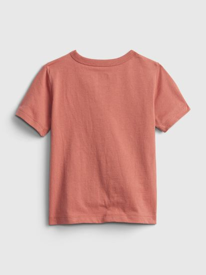 Gap Otroške Majica 100% organic cotton mix and match graphic t-shirt