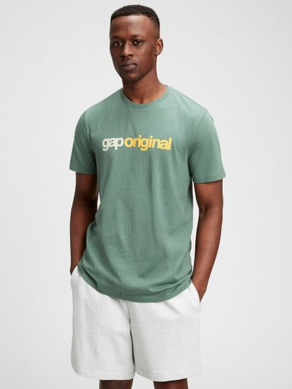 Gap Majica Logo pocket t-shirt