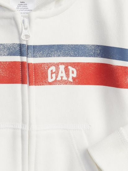 Gap Dojenčki Pulover Logo arch novelty hoodie