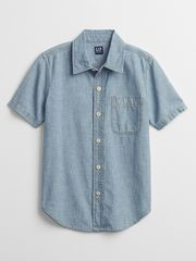 Gap Otroška Srajca chambray shirt XS