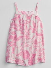 Gap Dojenčki Obleka floral dress 3-6M