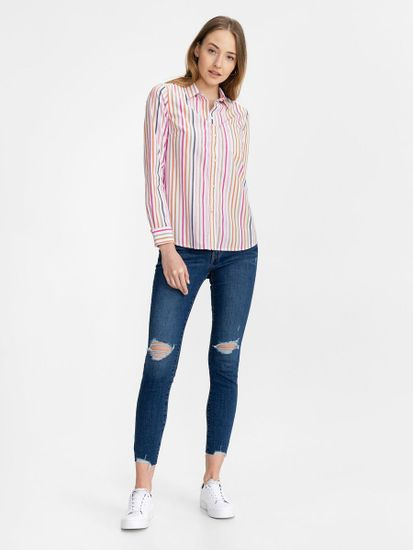 Gap Srajca print long sleeve shirt