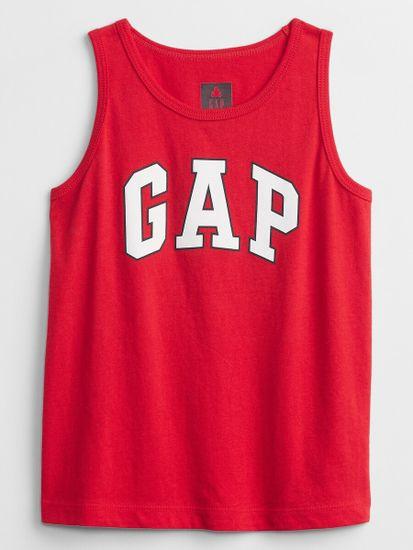 Gap Otroške Majica brez rokavov Logo tank Top