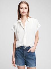 Gap Top drapey t-shirt XXS