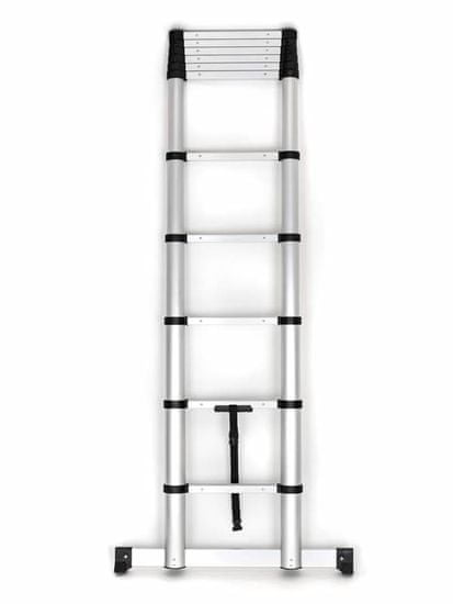 BECKFORD Rebrík teleskopický 320 × 81 × 8 cm 07069951