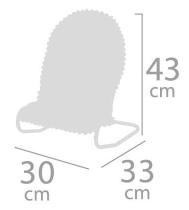 DeCuevas ležaljka za lutke Ocean Fantasy 51441