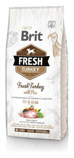 Brit Fresh Turkey with Pea Light Fit & Slim 12 kg