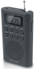 Muse M-03R, přenosné digit. kapesní rádio, černá