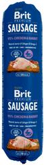 Brit Sausage Chicken & Rabbit 12 x 800 g