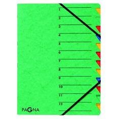 Pagna Triediaca zložka 12 Easy zelená