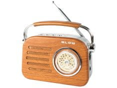 Blow RA3 analogni prenosni radio AM / FM I Bluetooth