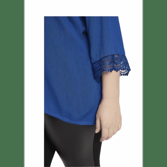 Junarose  blúzka modrá