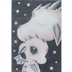 Jutex Koberec Funny 2107 ružový 1.50 x 0.80
