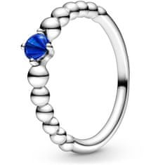 Pandora Stříbrný prsten pro ženy narozené v září 198867C12 (Obvod 54 mm) stříbro 925/1000