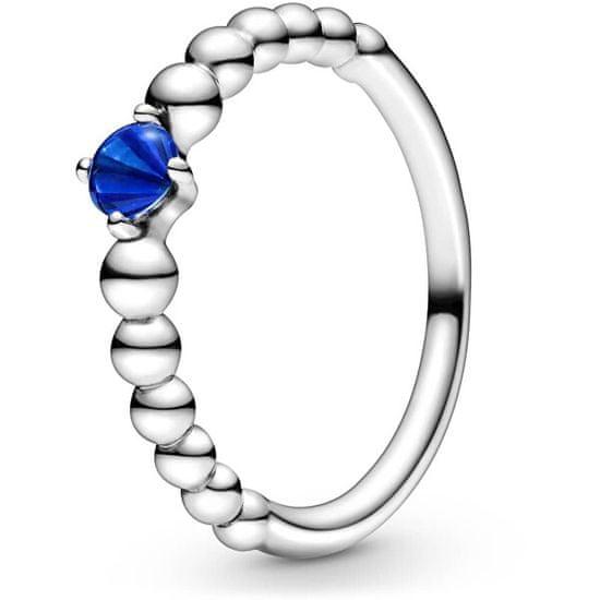 Pandora Stříbrný prsten pro ženy narozené v září 198867C12 stříbro 925/1000