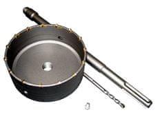 Ostatní Vrtací korunka příklepová průměr 150mm, se stopkou SDS Max 400mm