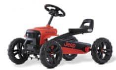 Berg Buzzy Jeep červená