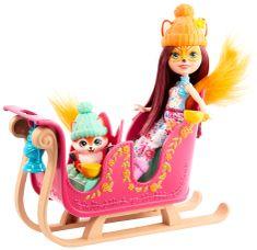 Mattel Enchantimals Téli szán játékkészlet