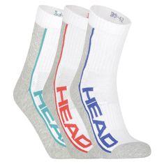 Head 3PACK ponožky vícebarevné (791010001 003) - velikost M