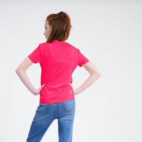 Dare 2b Dětské funkční tričko Dare2b RIGHTFUL růžová