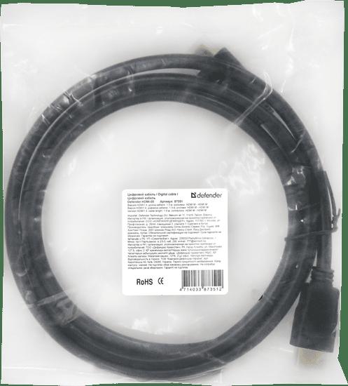 Defender Kabel HDMI-17 HDMI M-M, 5 m