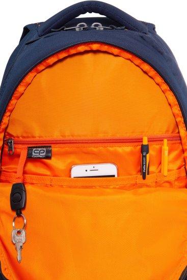 CoolPack Batoh Dart II dots oranžovo/modrý