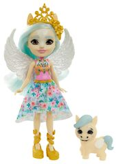 Mattel Enchantimals baba és kisállat Paolina Pegasus és Wingley