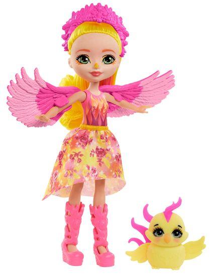 Mattel Enchantimals baba és kisállat Falon Phoenix és Sunrise