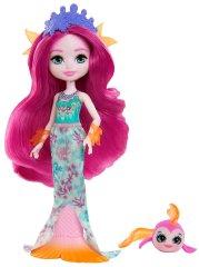 Mattel Enchantimals baba és kisállat Maura Mermaid és Glide