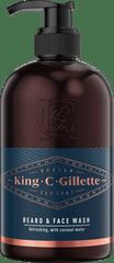 Gillette emulsja do mycia twarzy i brody King C., 350 ml