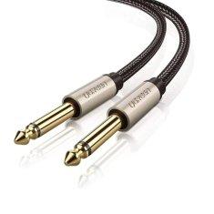 Ugreen AV128 avdio kabel 6.35mm jack 2m, M/M, siva