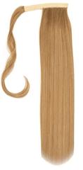 Vipbejba Sintetični čop na trak/pramen, raven, temno pramenasto blond F39