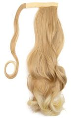 Vipbejba Sintetični čop na trak/pramen, skodran, medeno blond z blond konicami F23