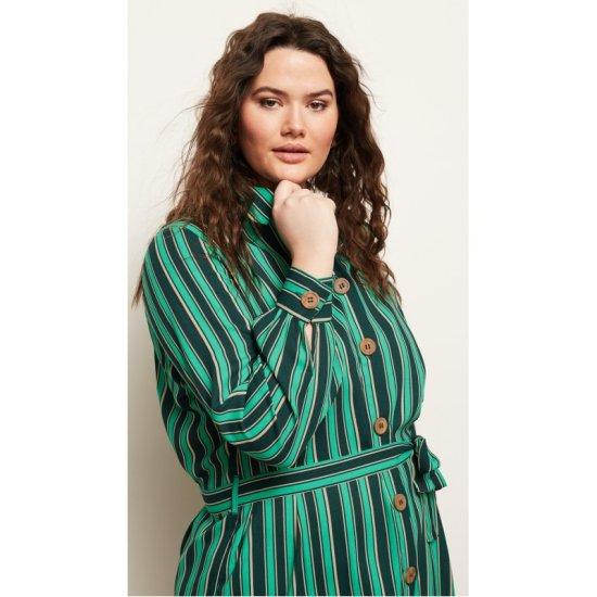 Junarose  šaty zelená