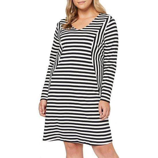 Junarose  šaty biela čierna