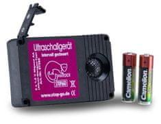 Norbert Schaub Ultrazvukový odpudzovač kún z motorového priestoru Stop a Go, batériový 3V